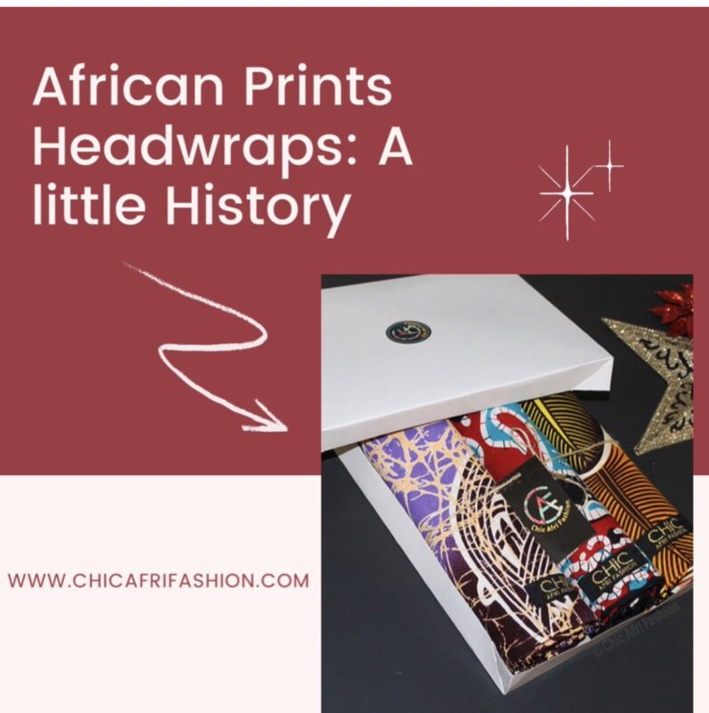 African Print Headwraps history blog